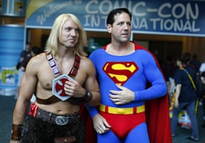 Comic-Con: He-Man and Superman