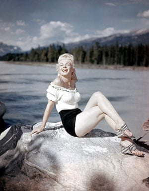 "Canada Parks: Marilyn Monroe in ""The River of No Return"""