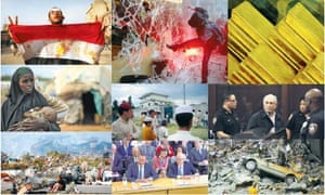 Overload: just some of the news of 2011.