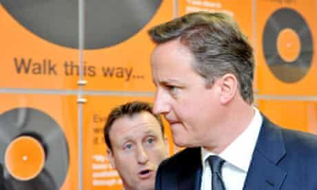 David Cameron visits South Wales