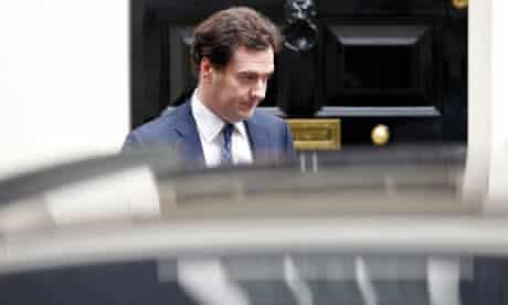 Britain's Chancellor of the Exchequer Osborne