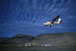 Canada Parks: The airstrip at Tanqueray
