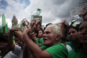 FTA: Jorge Dan Lopez: Supporters of Sandra Torres gesture during a political event in Guatemala
