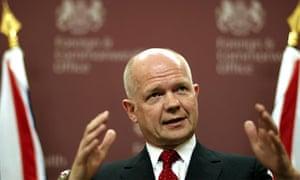 Hague orders Libyan diplomats to leave the UK