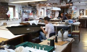 Costume makers ply their craft at Sands Films in Rotherhithe
