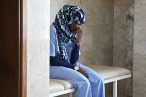 Misrata hospital: Nurse Fazya Omar al Parky in Hikma Hospital