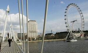 Shell Centre and London Eye