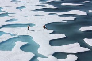 Satellite Eye on Earth: Ponds on the Ocean