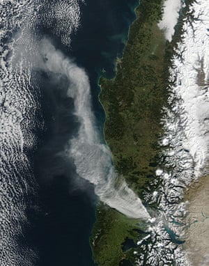Satellite Eye on Earth: Chile s Puyehue-Cord Volcano Complex