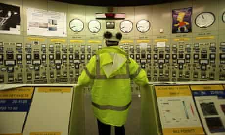Hinkley A nuclear power station