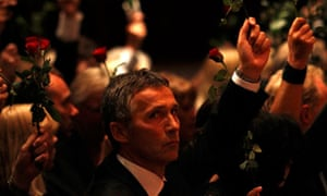 Norway's PM Stoltenberg at memorial service