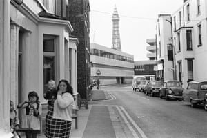 Blackpool: back street Bed and Breakfast