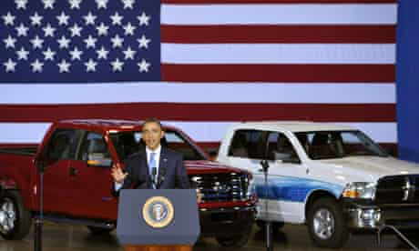Obama speaks on fuel efficiency standards