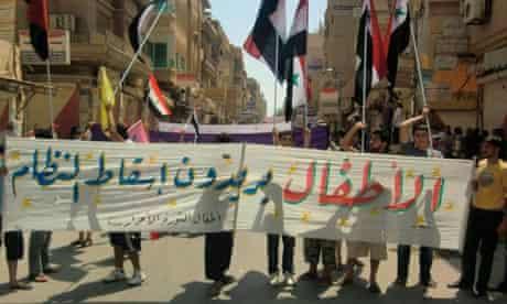 Syria protests against Bashar al-Assad