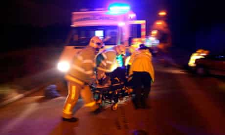 paramedics nhs chaos