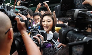 The Puea Thai party is led by Yingluck Shinawatra, seen as a proxy for her brother Thaksin