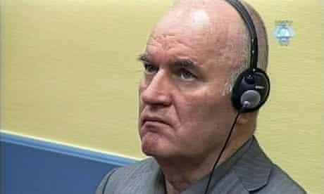 Ratko Mladic at The Hague, June 2011.
