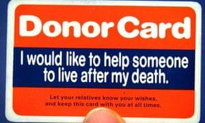 Organ donor shortage