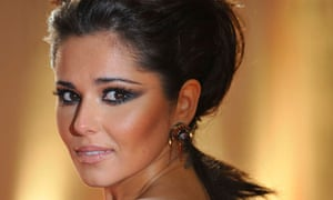 Cheryl Cole at the BRIT music awards in London.