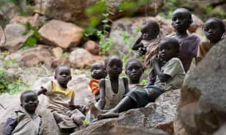 Children in Sudan's Nuba mountains