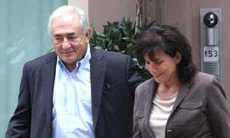 Dominique Strauss-Kahn and Anne SInclair