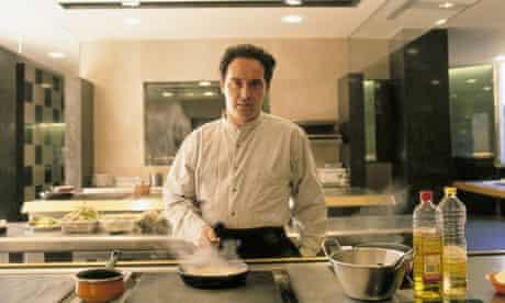 Ferran Adria, chef The chef in the kitchen of his restaurant 'El Bulli'