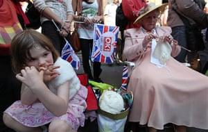Royal wedding: Generations wait
