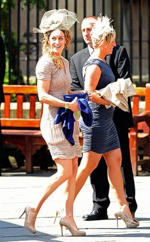 Royal wedding: Amy Williams