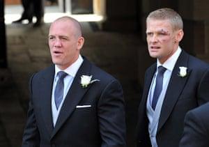 Royal wedding: Mike Tindall