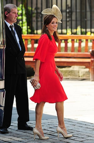 Royal wedding: Natalie Pinkham