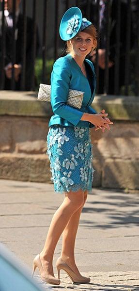 Royal wedding: Princess Beatrice