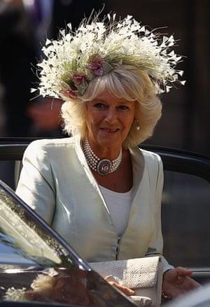 Royal wedding: Duchess Of Cornwall