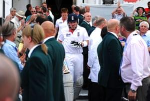 cricket: England v India: 2nd npower Test - Day Three