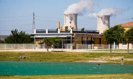 Tricastin nuclear power plant in France