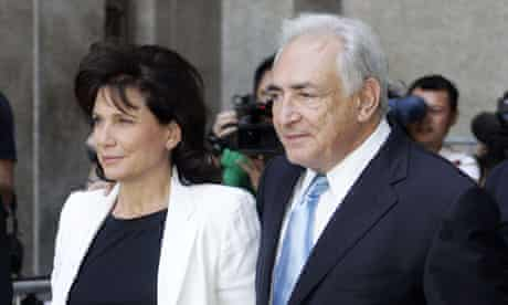 NY Judge frees Dominique Strauss-Kahn from house arrest, New York, America - 02 Jul 2011