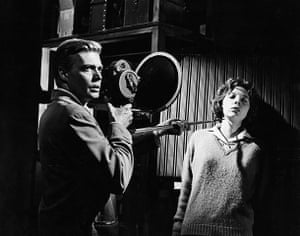 Anna Massey: 1960: Anna Massey with Karlheinz Bohm in Peeping Tom