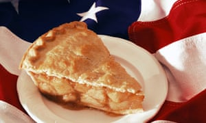 Apple pie and the stars and stripes