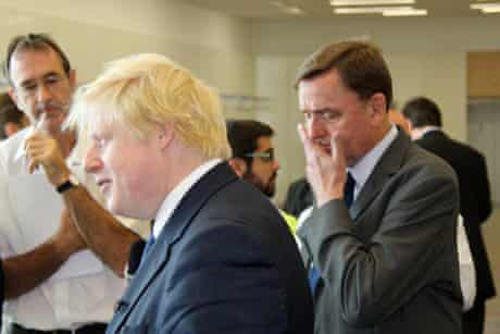 Boris Johnson & Sir Robin Wales