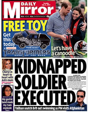 Milly Dowler Hacking: The Mirror 5 July