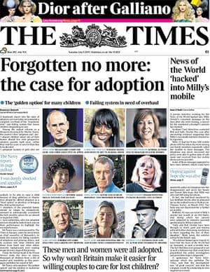 Milly Dowler Hacking: The Times