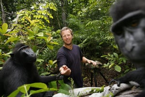 Macaque photos: The monkey snaps a shot of photographer David Slater