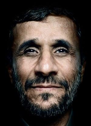 Platon power portraits:  Mahmoud Ahmadinejad