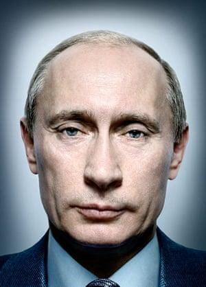 Platon power portraits: Vladimir Putin