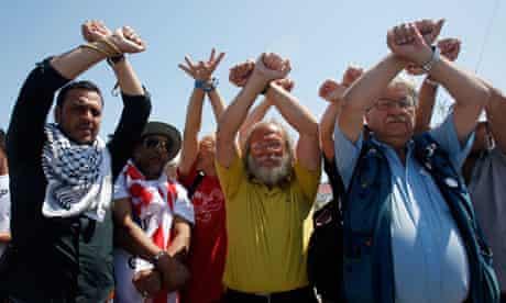 Gaza flotilla activists