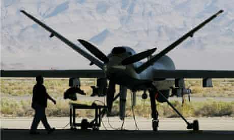 Reaper aircraft at Creech Air Force base in Nevada