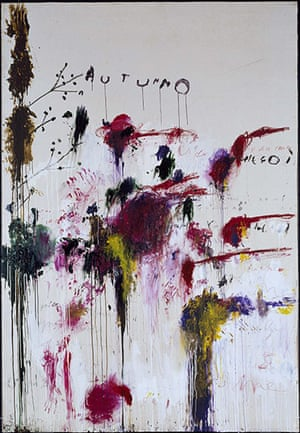 Cy Twombly-in memoriam: Cy Twombly-life in pictures