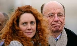 Rebekah Brooks and Rupert Murdoch