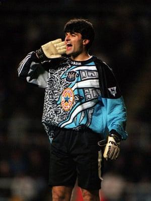 goalkeepers: Newcastle V Everton