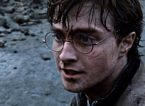 Daniel Radcliffe as Harry Potter in Harry Potter and the Deathly Hallows, Part 2