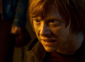 Rupert Grint as Ron Weasley in Harry Potter and the Deathly Hallows, part 2